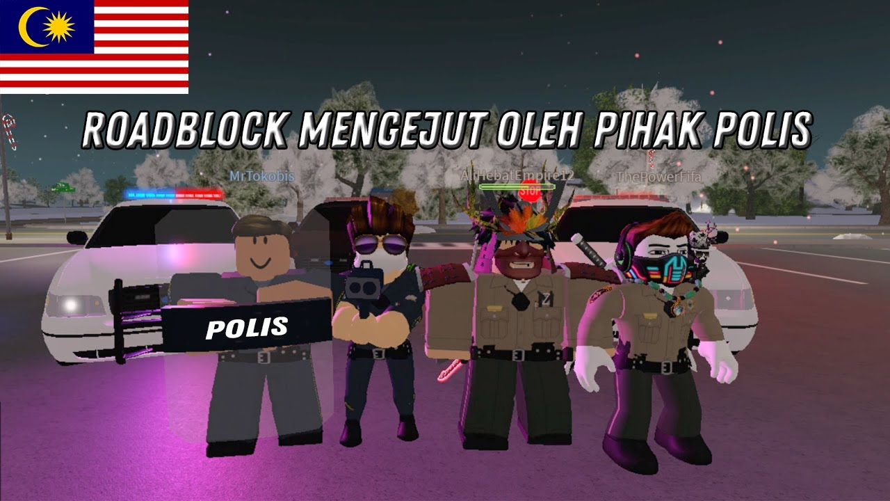 Download Horangi Salah Guna Kuasa Buat Roadblock ? [Emergency Response: Liberty County] #RobloxMalaysia