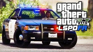 GTA 5 LSPDFR SP #18 - Stupid Street Racers