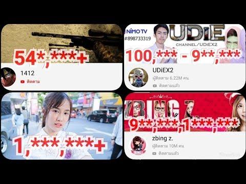 7 อันดับ youtubeไทยที่ผู้ติดตามเยอะที่สุดสร้างรายได้เท่าไหร่ และระบบโฆษณาของyoutube