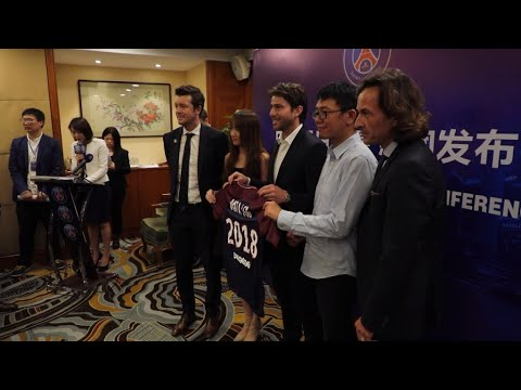Paris Saint-Germain football club opens new hub in Shanghai