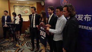 Paris Saint-Germain football club opens new hub in Shanghai