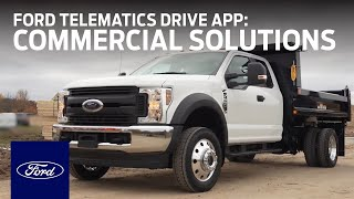 homepage tile video photo for Ford Telematics™ Drive App | Ford Commercial Solutions | Ford