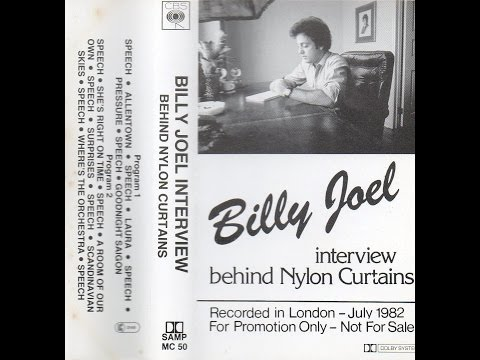 Billy Joel : RARE 'Behind Nylon Curtains' Interview : 1982