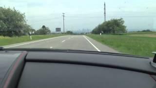 HUGH acceleration Aston Martin Rapide S (onboard)