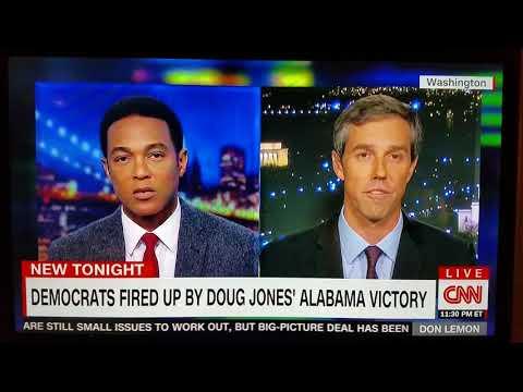 Beto O'Rourke Interview with CNN's Don Lemon