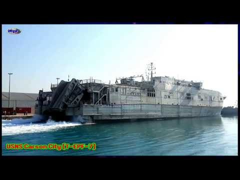 High Speed Vessel - USNS Carson City (T-EPF-7)