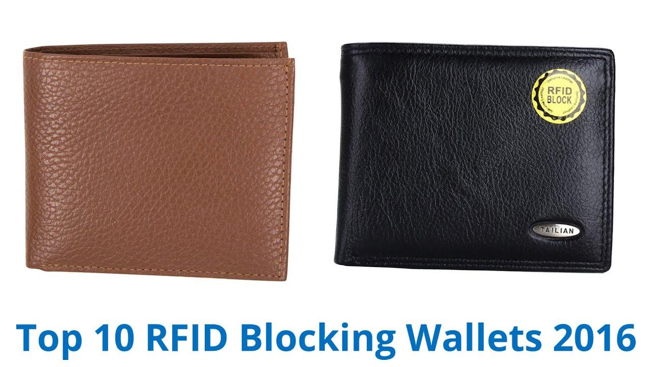 10 Best RFID Blocking Wallets 2016