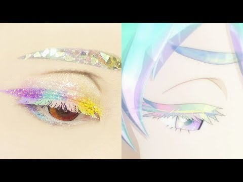 Diamond from Houseki no Kuni | Tutorial: Anime Eye Makeup 276 thumbnail