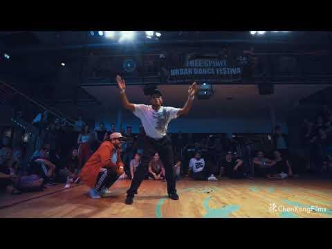 Free Spirit Festival 2017 MUSICOLOGY // Dalil vs Fonky Ninja // Funk -  1/4 Final