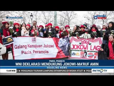 WNI di Paris Deklarasi Mendukung Jokowi-Ma'ruf Amin Mp3