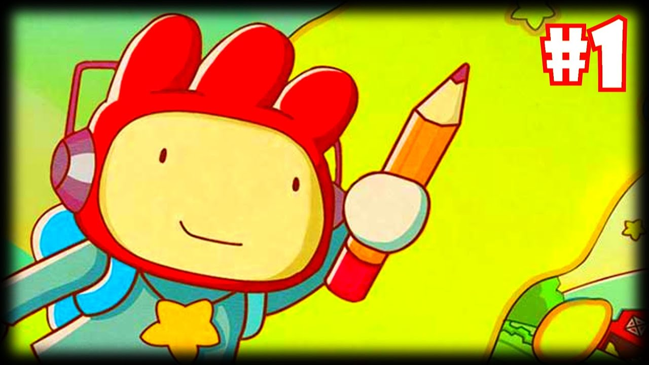 scribblenauts unlimited how to play