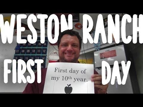 Weston Ranch High School Staff Photos First Day 2020