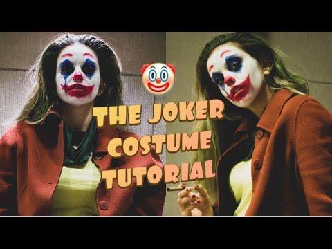 Easy Halloween Costume Tutorial: THE JOKER