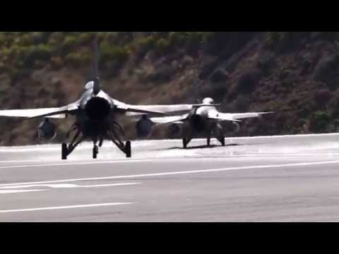 F-16 Portuguese Air Force Madeira Airport Funchal