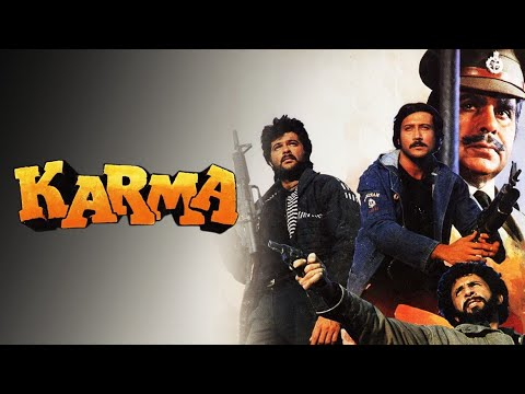 Download Karma Full Movie unknown facts and story   Dilip Kumar   Naseeruddin Shah Anil kapoor