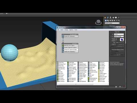 Autodesk 3DS Max Particles 201 - preview tutorial snow walker by