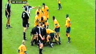 New Zealand Schools Rugby Team v Australia 2002