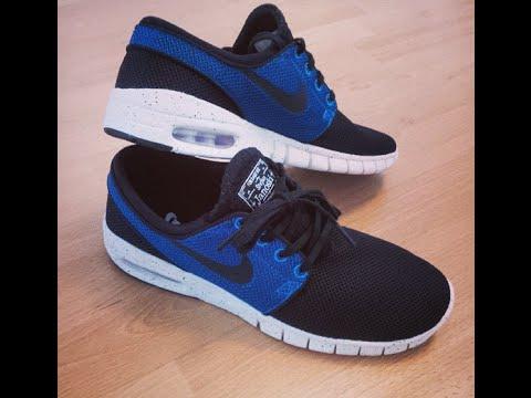 Nike Sb Janoski Max Bleu Et Noir SAST pas cher bonne vente vue vente meilleur authentique pas cher abordable SZvfWDD