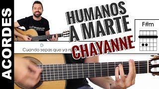 Humanos A Marte Acordes guitarra y letra cover  Chayanne