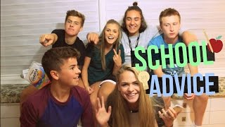 SCHOOL Q&A\\ Freshman Advice, Embarrassing Stories, How to Make Friends