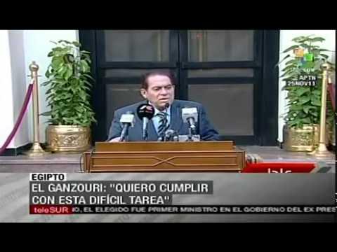 Kamal al-Ganzouri new Egyptian prime minister