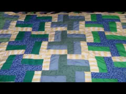 Simple Hand Quilting Designs Variations On Rail Fence Quilt Pattern