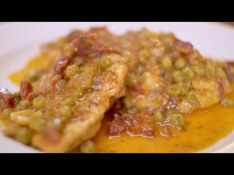Chicken Scallopini with Sage Capers
