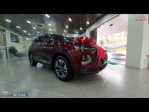 Cập nhật Giá Xe Hyundai Santafe lăn bánh (Tháng 4/2021) - Máy xăng, Máy Dầu