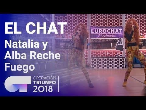 Fuego - Natalia Y Alba Reche | El Chat | Programa 8 | OT 2018