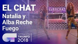 Fuego-Natalia-y-Alba-Reche-El-Chat-Programa-8-OT-2018