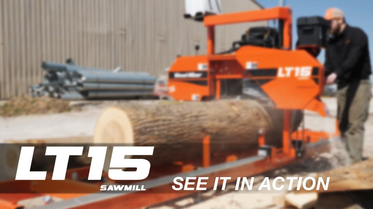 LT15 Portable Sawmill in Action | Wood-Mizer