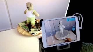 3D Scanning with the Structure Sensor (4x speed)