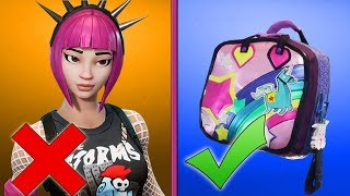 SKINS THE YOU ONLY HAVE THE BACK-ACCESSOIRE HAVE THE RIGHT OF THE BACK- BATTLE ROYALE ENGLISH