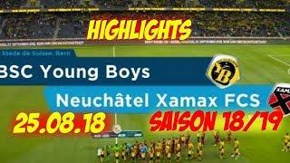 Highlights: BSC Young Boys vs Neuchatel Xamax FCS (25.08.18)