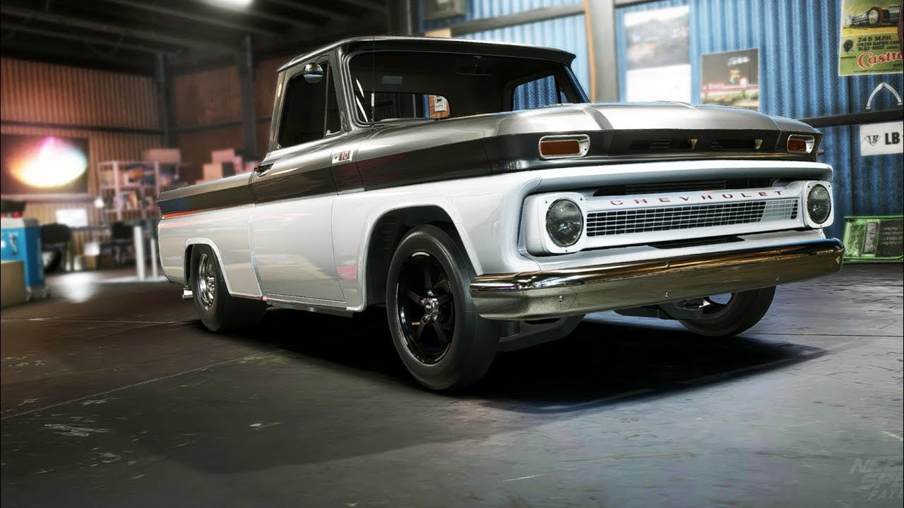 need for speed payback chevy c10 drag build doovi. Black Bedroom Furniture Sets. Home Design Ideas