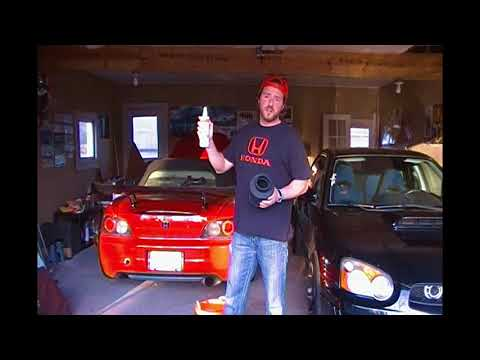 How to clean a cold air intake filter