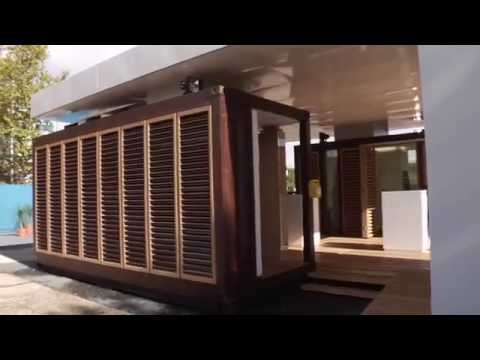 ▶ Build shipping container home ▶ German Solar Container House