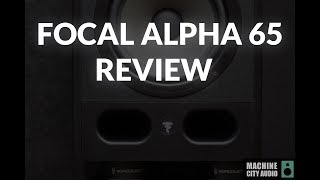 Focal Alpha 65 (Studio Monitor) Review