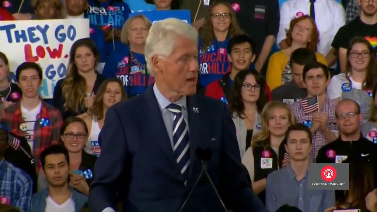 Download FULL SPEECH  Hillary Clinton, Bill Clinton FINAL RALLY in Raleigh, NC 11 7 2016