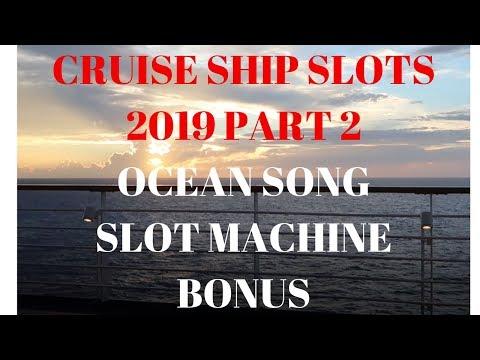 CRUISE SHIP SLOTS PART 2. *OCEAN SONG SLOT MACHINE BONUS* BIG WIN!