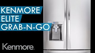 Kenmore Elite Grab-N-Go™ Counter-Depth Refrigerator