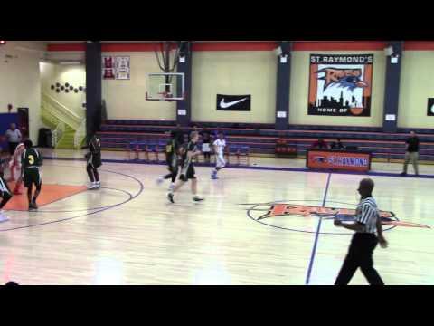 Sean Flynn Holy Cross High School Basketball- (02/10/16) vs Saint Raymond's, Bronx, NY