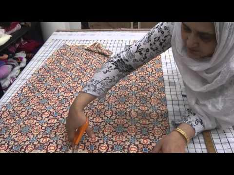 kameez ki cutting urdu