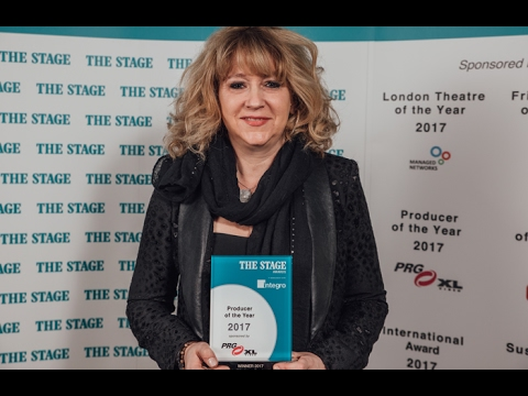 Sonia Friedman (Producer of the Year) - The Stage Awards 2017