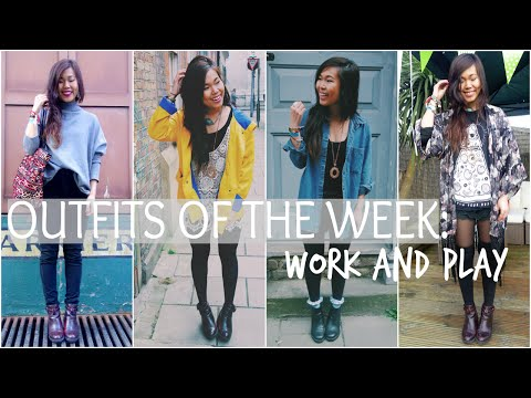 Outfits Of The Week: 7 Days of Work and Play