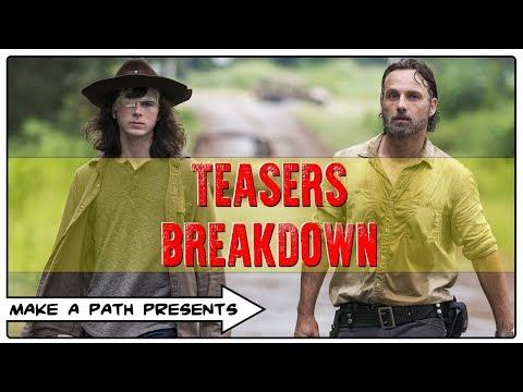TEASERS BREAKDOWN - MID SEASON FINALE - THE WALKING DEAD