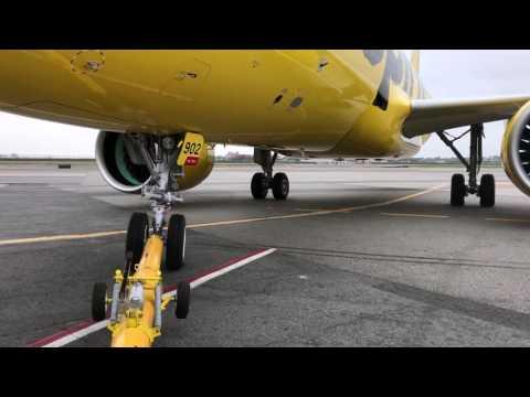 FIRST A320 NEO AT LGA