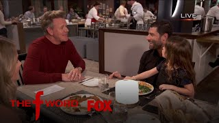 Gordon Ramsay Gives Max Greenfield A Taste Test | Season 1 Ep. 3 | THE F WORD
