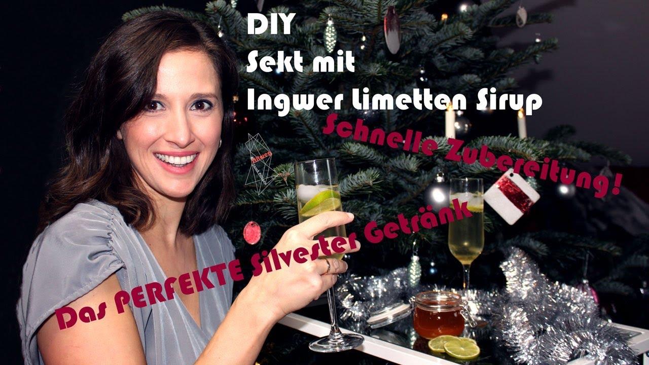 Sekt mit Ingwersirup – Besonderes Silvester Getränk / Wärmt von ...