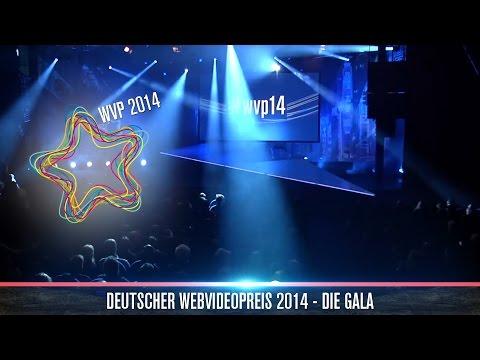 Deutscher Webvideopreis 2014 - die Gala (Würstchen-free Edition) #WVP14